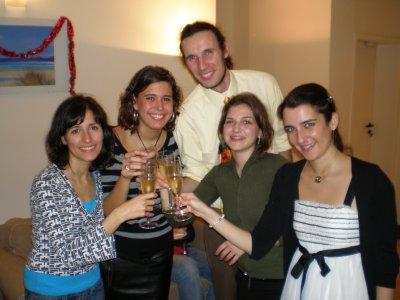 ¡Feliz 2007 de parte de los becarios ICEX de Bruselas!