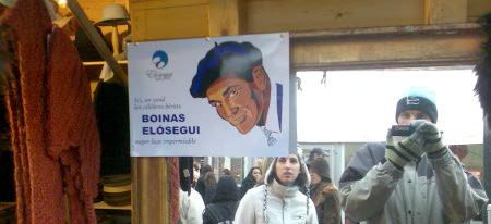 Boinas Elósegui en Bruselas