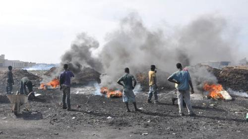 Agbogbloshie fumes